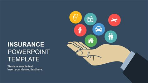 using a powerpoint template insurance powerpoint template slidemodel
