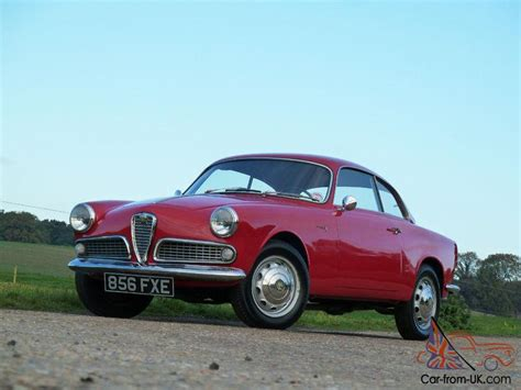 1960s Alfa Romeo by 1960 Alfa Romeo Giulietta Sprint