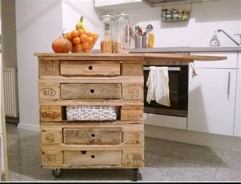 Isole In Cucina by Isola Cucina Con I Pallet 15 Idee A Cui Ispirarsi