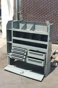 used adrian steel shelving adrian steel drawer rack md507 cargo storage shelf ebay