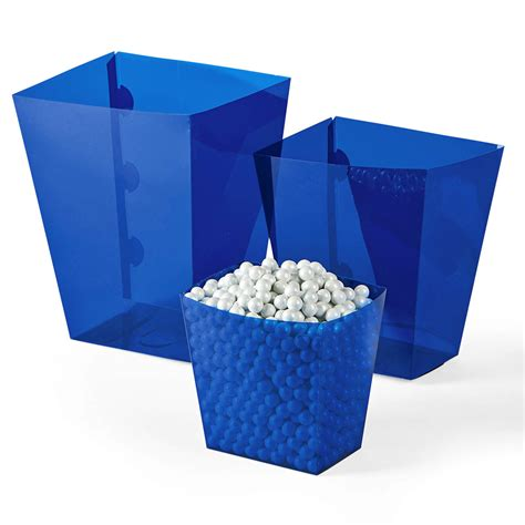 buffet containers plastic blue buffet containers 6 count
