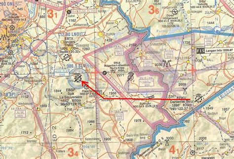 spa belgium map maps from dahlemer binz edkv to spa ebsp 16 jul 2003
