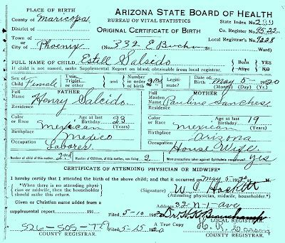Arizona State Records Arizona Birth Certificate Record Vital Records