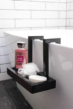 fitting your own bathroom diy lucite bathtub caddy diy things pinterest