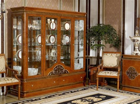 italy design high end antique furniture 0031 showcase