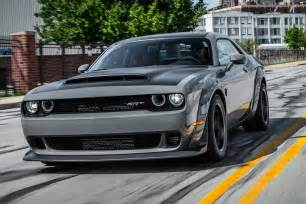 2018 dodge challenger srt launch review