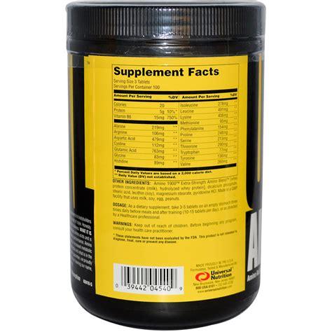 aminoz supplements universal nutrition amino 1900 amino acid supplement