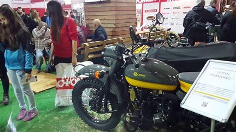 motosiklet fuari  istanbul ural sepetli