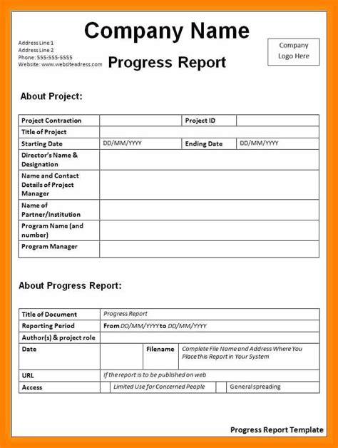 status report sample memo heading