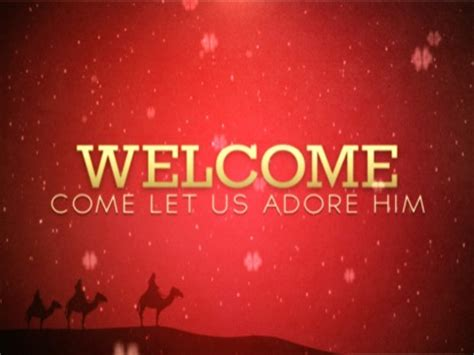 christmas welcome 01 | centerline new media | worshiphouse
