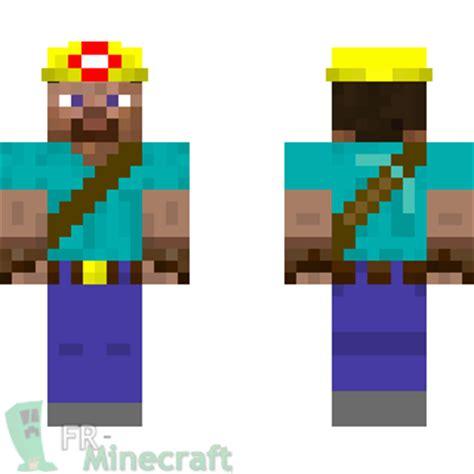 minecraft skin minecraft : mineur