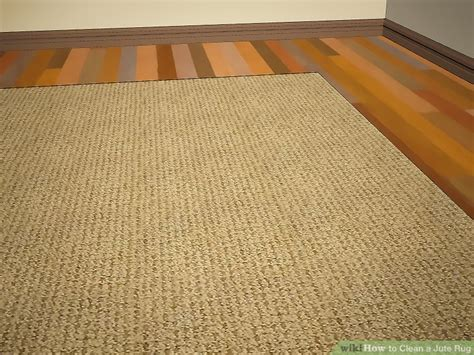 cleaning jute rugs how to clean a jute rug 9 steps with pictures wikihow