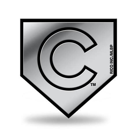 home design 3d logo chicago cubs logo 3d home plate chrome decal sticker new
