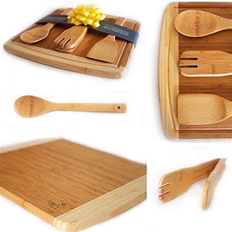 Wedding Gift Kitchen Set by Bamboo Cutting Board Housewarming Wedding Gift Set
