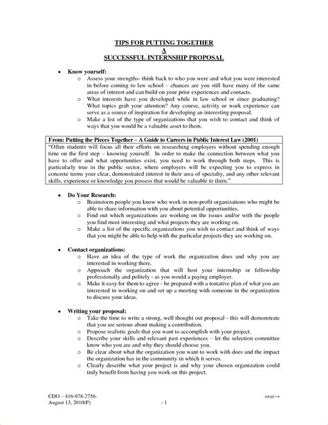 5 written proposal procedure template sle