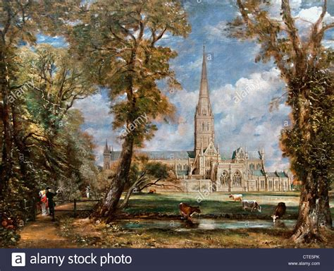 by john constable salisbury cathedral salisbury cathedral from the bishop s grounds 1825 john