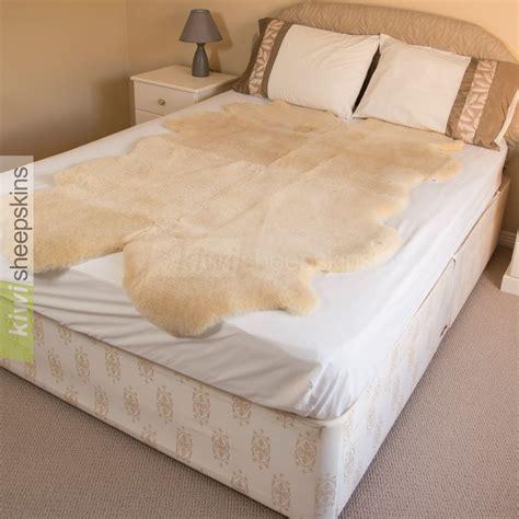 sheepskin comforter natural shape medical sheepskin underlay improves sleep