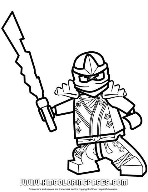 free coloring pages of lego ninjago viclis