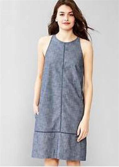 Gap Dress gap chambray shift dress dresses shop it to me