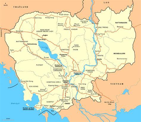 map of cambodia about cambodia saromguide angkor wat angkor thom siem reap cambodia phnom penh ancient