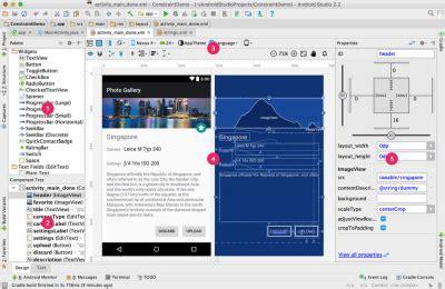 google layout maker android studio 2 2 bringt erweiterte layout funktionen