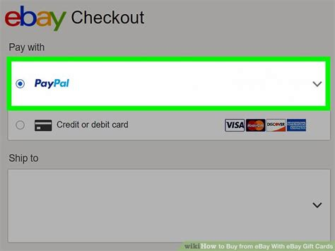 How To Pay With Gift Card On Ebay - how to buy from ebay with ebay gift cards 13 steps