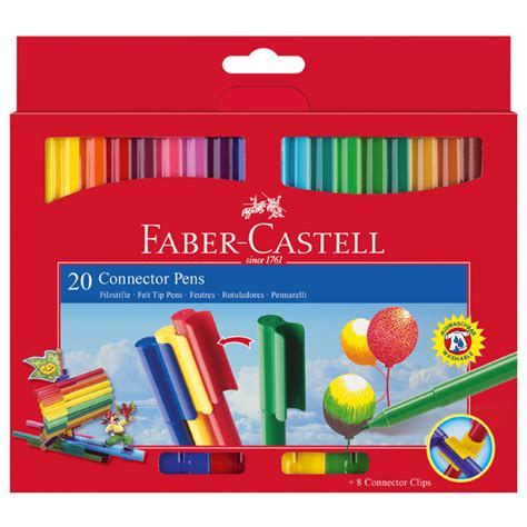 Faber Castell Connector faber castell connector pens set of 20 cult pens