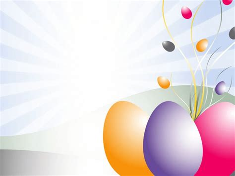 easter layout ppt powerpoint background 3d ppt easter eggs clipart ppt