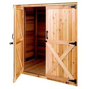 Lowes Barn Door Shop Cedarshed Cedar Storage Shed Door At Lowes