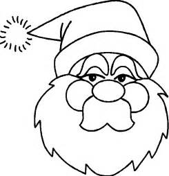 pictures of santa claus to color drawings of santa claus coloring
