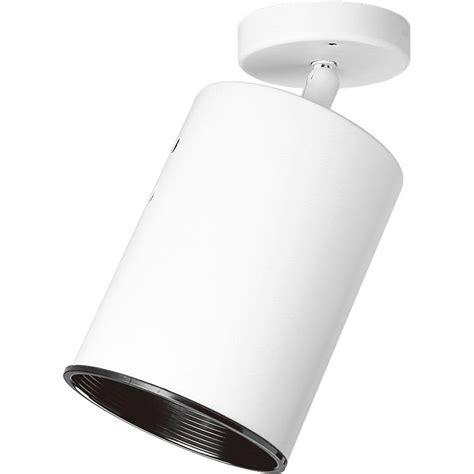 installing a progress lighting fixture progress lighting white 1 light spotlight fixture p6397 30
