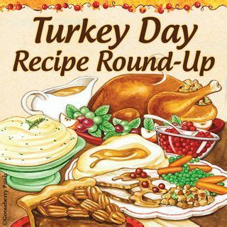 thanksgiving day recipe gooseberry patch turkey day recipe round up thankful