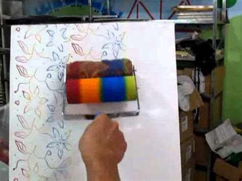 Soft Pattern Roller With Sponge Pad | soft pattern roller with sponge pad youtube