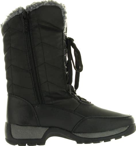 cold weather boots for totes womens rhonda winter cold weather boots ebay