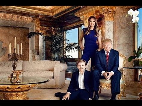 donald trump house interior inside donald trump s house youtube