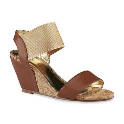 Sandal Wedges Jepit Spon 64 miller s dunlap brown gold wedge sandal clothing shoes jewelry shoes