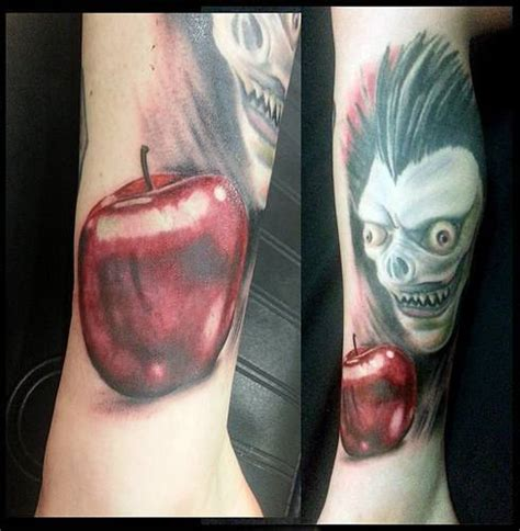 death note tattoo design 14 jaw dropping note inspired tatoos