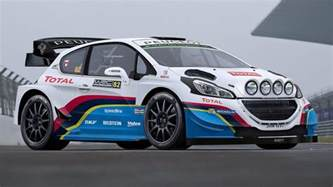 Peugeot Wrc This Is What A 2017 Peugeot Wrc Car Looks Like Top Gear