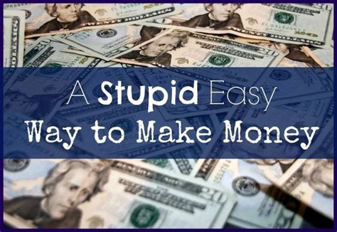 Easy Way Make Money Online - a super easy way to make money fast online on the side