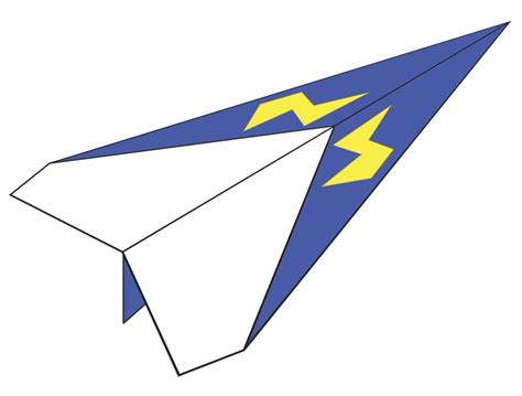 Paper Folding Airplane - plane number 1 how things fly