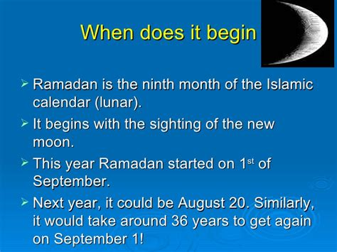 when does the islamic new year start ramadan holy month
