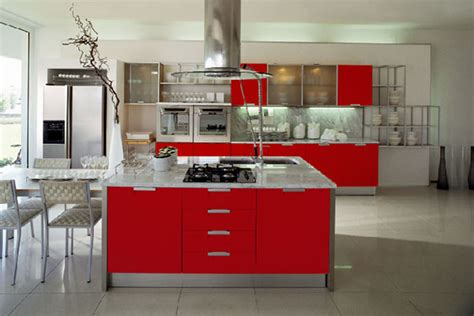 red kitchen cabinets ideas modern cherry red kitchen cupboards best home decoration