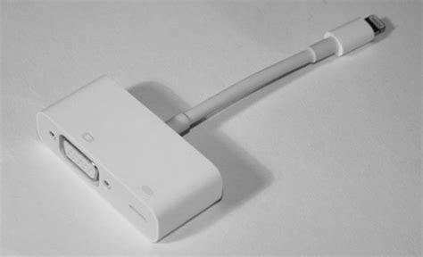 Apple Lightning To Vga Adaptor accessory review apple lightning to vga adapter pocketables