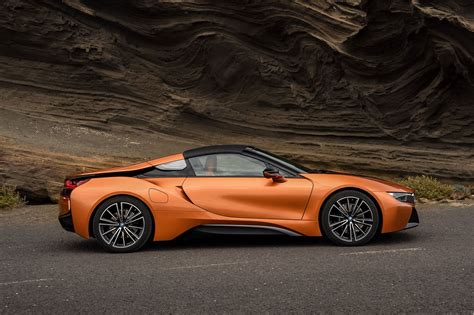 cars bmw i8 soft top super hybrid 2018 bmw i8 roadster revealed by