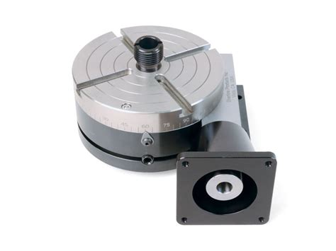 8711 nickel teflon coated cnc rotary table with indexer