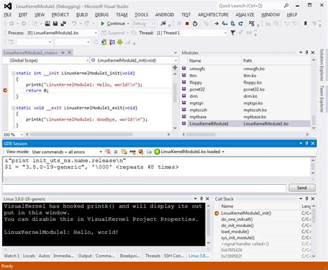 tutorial linux kernel module announcement linux kernel module development with visual