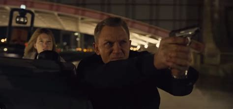 film semi james bond video james bond in action for first spectre trailer bso