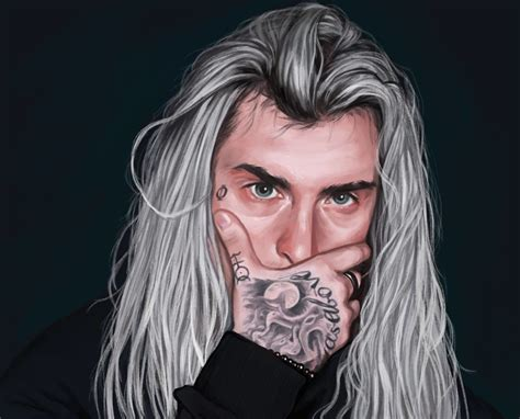 artstation ghostemane nat rojek sad pinterest