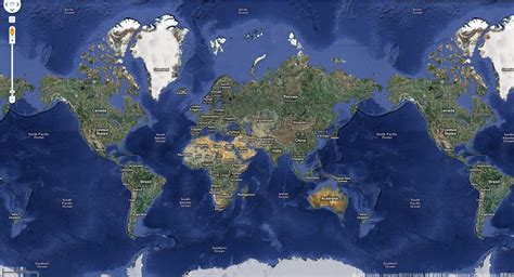 google world map  large images