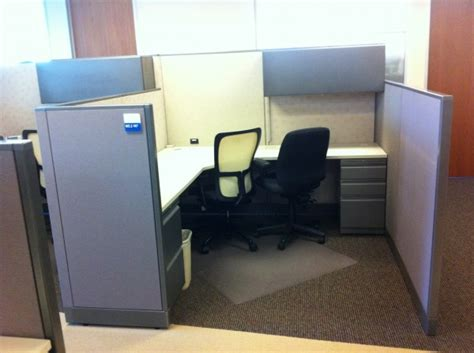 used allsteel consensys 7 215 7 cubicles used cubicles